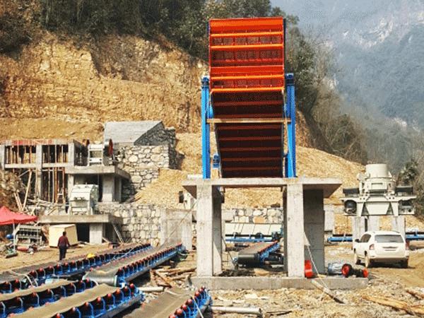 200吨砂石生产线